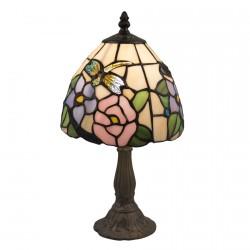 Lampe de Chevet - Style Tiffany : Libellule, H. 36 cm