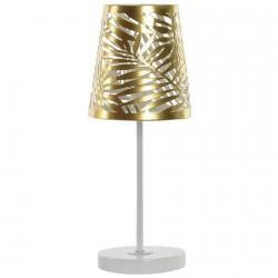 Lampe de Table - Feuilles Brillant, H. 35 cm