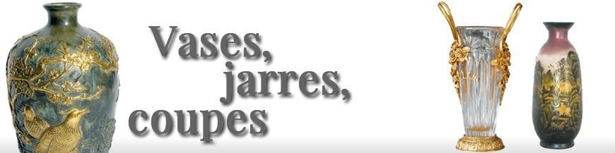 Vases, Jarres, Coupes