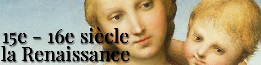 15em - 16em sièce - Renaissance