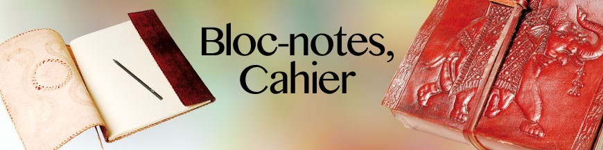Bloc-notes, Cahiers