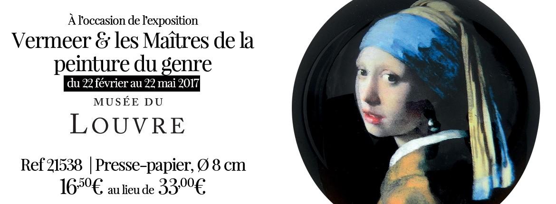 EXPO : Vermeer et les maitres de la peinture du genre