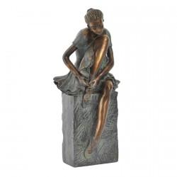 Sculpture - Danseuse au Repos, H. 25 cm