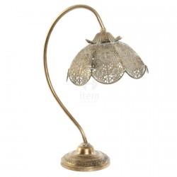 Lampe - Belle-Epoque : Fleur Ethnique, H. 50 cm