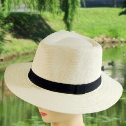 Chapeau - Panama blanc, TU