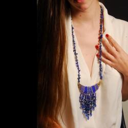 Parure - Toutânkhamon Plastron Lapis Lazuli