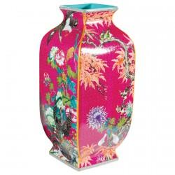 Vase - Chine : Prospérité et Bonheur, H. 43 cm