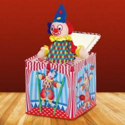 Boite à Musique - Clownesque, H. 14 cm