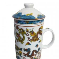 Mug - Tisanière Dragon, H. 13 cm