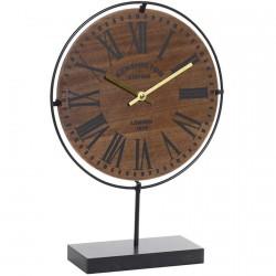Horloge / Pendule - « Qui dit l'heure », H. 42 cm