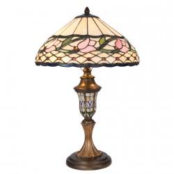 Lampe de Table - Tiffany : 5e Avenue, H. 60 cm