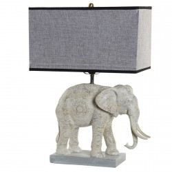 Lampe de Table - Eléphant, H. 55,6 cm