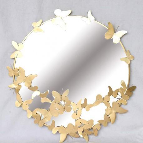 Miroir - Papillons, ø 65 cm