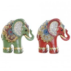 Sculpture - Elephant, H. 14 cm (Set de 2)