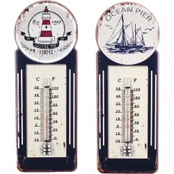 Thermomètre Phare ou Voilier - au choix
