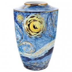 Vase porcelaine - Soleils, Van Gogh