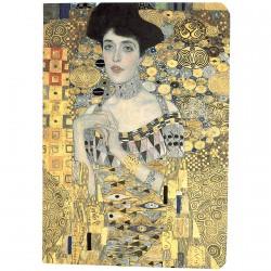 Carnet de notes peinture - Klimt, la dame en or