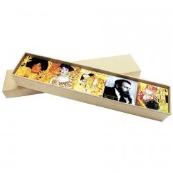 Coffret 5 magnet peintres - Klimt