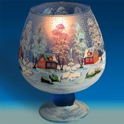 Photophore verre - Ukrainien A, ø 17 cm