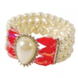 Bracelet - Imperatrice rouge