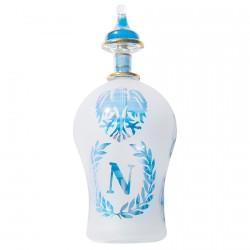 Flacon à Parfum verre soufflé - Napoléon, H. 16 cm