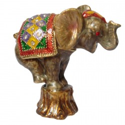 Boîte Eléphant Acrobate