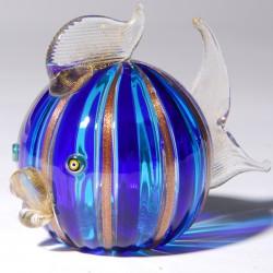 Verre soufflé - Poisson Murano, L. 11,5 cm