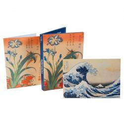Cartes postales - Hokusai, L. 15 cm
