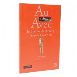 Livres - Au Louvre avec Jacqueline de Romilly et Jacques Lacarrière