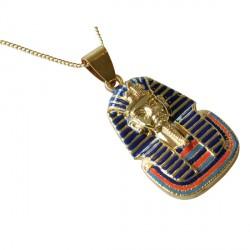 Pendentif plaqué or - Toutankhamon, H. 5 cm