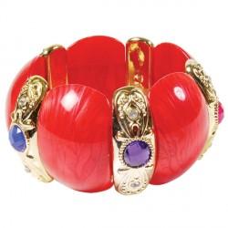 Bracelet - Mucha rouge