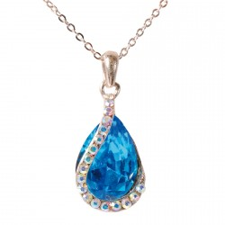 Collier - Princesse bleu