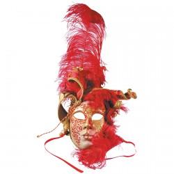 Masque - Visage Plume
