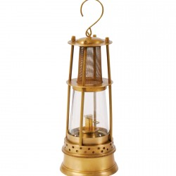 Suspension - Lampe de mineur, H. 26 cm, Ø 10,5 cm