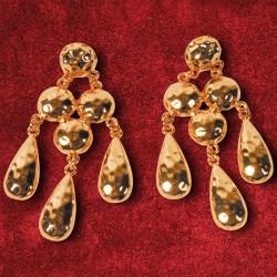 Boucles d'oreilles Pendants - Montpensier, H. 3 cm