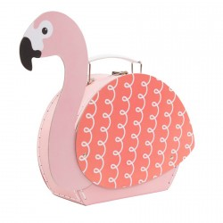 VALISE - FLAMANT ROSE