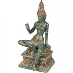 Sculpture - Shiva, Déité Indienne, H. 24 cm