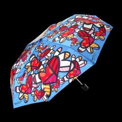 Parapluie - Roméro Britto : Flying Heart, ø 100 cm