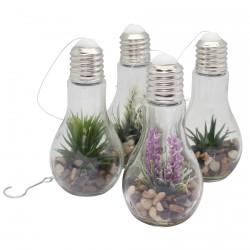 Lampe de Chevet - LED Végétale, H. 18,5 cm