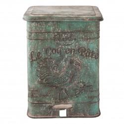 """Poubelle - Vintage : """"Le Coq en Pâte"""", 15 L."""