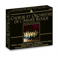 2 CD - Serghej Nazarko : Chœur et Orchestre de l'Armée Rouge