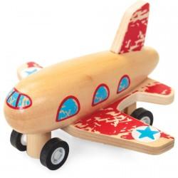 Véhicule Rétrofriction - Avion, L. 8 cm