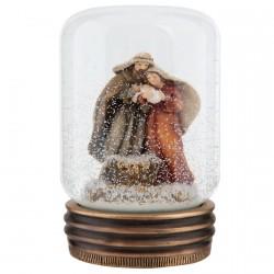 Décoration de Noël - Boule de Neige : Noël, H. 10 cm