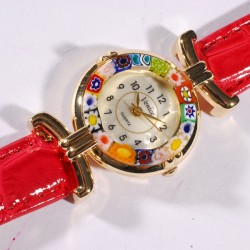 Montre - Murine rouge