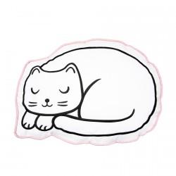 Coussin - Petit Chat Fait sa Sieste, L. 42 cm