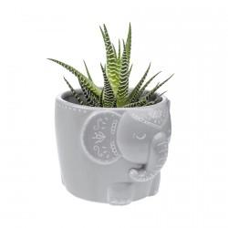 Cache-Pot - Eléphant Mandala, H. 15 cm