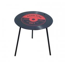 Table de Café - Disque Vinyle, ø 50 cm
