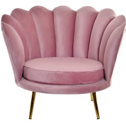 Fauteuil - Marilyn vieux Rose