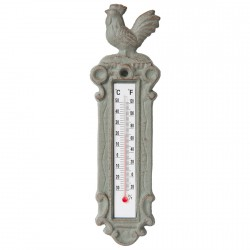 Thermomètre -Coq, H. 22 cm