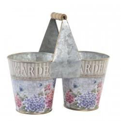 Support Pot de Fleurs - Hortensia, L. 25 cm